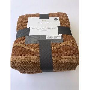 New Threshold Sweater Knit Blanket Queen/Full